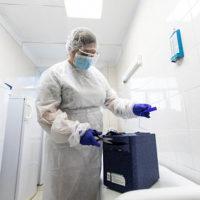В Бугуруслане открыли дополнительный пункт вакцинации от коронавируса