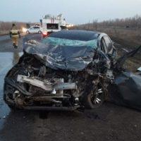 В районе Тоцкого на трассе Оренбург-Самара насмерть разбился водитель «Опель Астра»