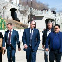 Денис Паслер поручил навести порядок на набережной Урала в течение двух недель